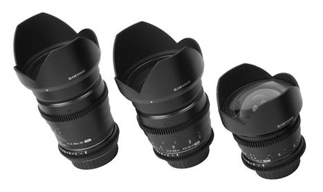 Three New Samyang VDSLR Lenses To Be Released Soon (14mm, 24mm and 35mm) | FOTOGRAFIA Y VIDEO HDSLR PHOTOGRAPHY & VIDEO | Scoop.it
