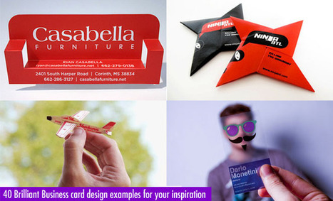 40 Brilliant Business card design examples for your inspiration | timms brand design | Scoop.it