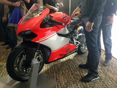 First pics with 1199 Superleggera | Ducati | Scoop.it