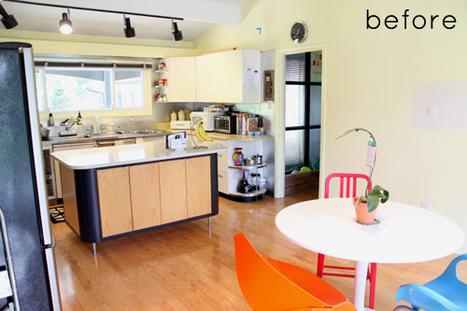 before & after: modern kitchen renovation | Networking Concepts, Interpretations, | Scoop.it