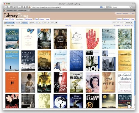Curate and Share Your Own Book Library Catalog with LibraryThing | Leadership and Libraries | Scoop.it