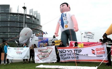 Le lobbying des milieux d'affaires sur le traité transatlantique dénoncé par des ONG   Think outside the Box   Scoop.it