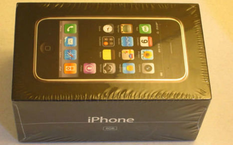 On Sale on eBay: An Unopened First-Gen iPhone for $10,000 | SMedia | Scoop.it