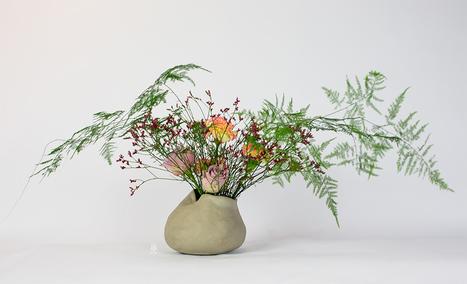 Flower Veil Arrangement Tutorial • Ikebana Beautiful | TRENDBUBBLES | Scoop.it
