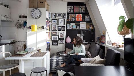 Un joli studio organisé pour vivre et travailler | DecoCrush blog déco, idées déco | décoration & déco | Scoop.it