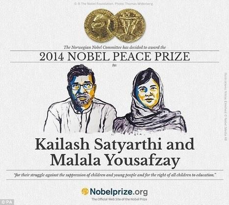 Malala Yousafzai, 17, has been awarded the Nobel Peace Prize | e-learning, social media,history,education, b-learning | Scoop.it