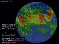 Interaktywna mapa globalnego zanieczyszczenia powietrza   Nauka i Technika   Scoop.it