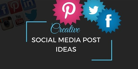 Creative Social Media Post Ideas Graphic Desi