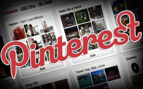 Pinterest, social commerce e utenti mainstream - Tech Economy | Nico Social News | Scoop.it