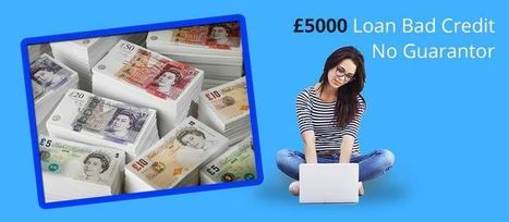 Loans For People With Bad Credit Instant Decision No Fees >> Instant 5000 Pound Loan For Bad Credit People W
