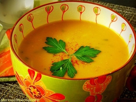 soupe de pois cassés aux vermicelles | Légumineuses | Scoop.it