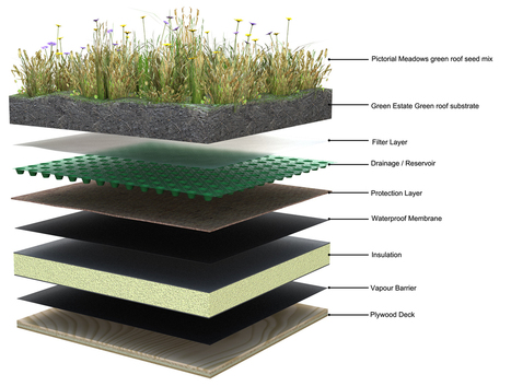 Cool, Efficient, Beautiful: Green Roofs - The Green Economy | Vertical Farm - Food Factory | Scoop.it
