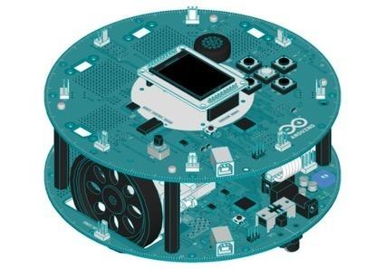 Arduino robot   Dangerous Prototypes   AVR & Arduino   Scoop.it