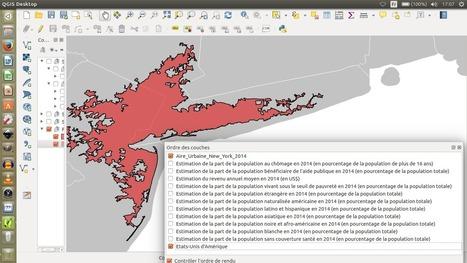 Histoire-Géographie au collège et au lycée - Ressources pour enseigner avec un système d'information géographique - Ségrégations dans l'aire urbaine de New York | HG Sempai | Scoop.it