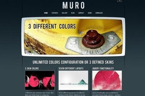 Muro is a free WordPress Theme by LuisZuno   WP Daily Themes   Free & Premium WordPress Themes   Scoop.it