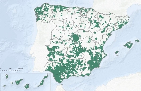 Mapa De Sevilla Capital.Los Municipios Espanoles Que Concentran