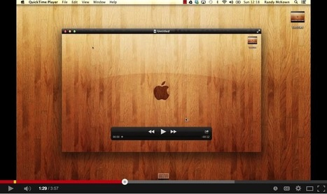 An Easy and Simple Way to Create Educational Screencasts and Tutorials on Your Mac ~ Educational Technology and Mobile Learning | ed tech.computer class.writing ctr.ICT skills | Scoop.it