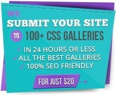 Nominees Gallery - CSS Web Design Awards - CSSDA | Learning HTML, CSS, Design Favs | Scoop.it