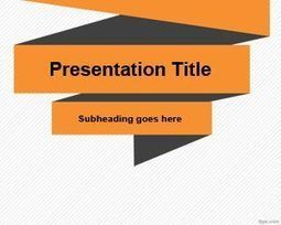 Free Simple Origami PowerPoint Template | Free Powerpoint Templates | Elementary Technology Education | Scoop.it