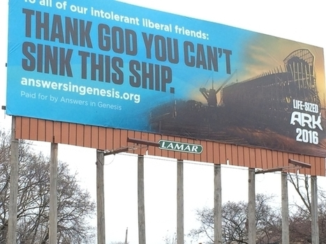 Answers in Genesis message to liberals: 'thank God you can't sink this ship' - WCPO | The Official GODrive Media SCOOP! | Scoop.it