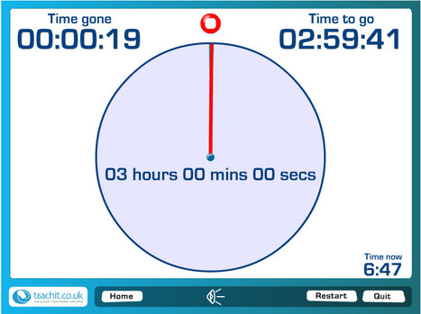 Teachit Timer - A Free Online Timer | Online Education to Virtual conferences | Scoop.it
