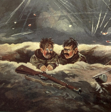 Made in the Trenches: a WW1 Magazine Created by Soldiers (1916) | History | Scoop.it
