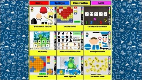 Edu-Curator: Op Digipuzzle vind je leuke online spelletjes voor de kleuters | ICT in het onderwijs | Scoop.it