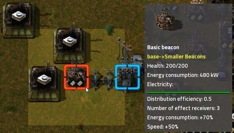Smaller Beacons Mod For Factorio   Factorio Mods