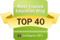 40 Most Trusted Education Blogs | GetDegrees.com | Get Degrees | Tech Bucket List | Scoop.it