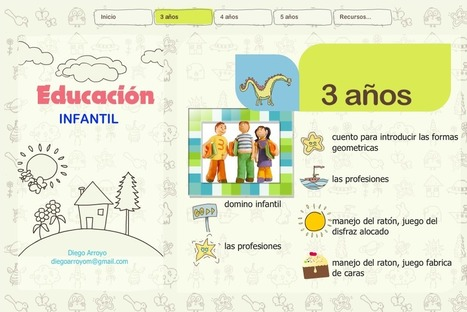 Recursos y herramientas digitales para Educación Infantil | EduTIC | Scoop.it