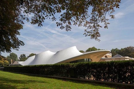 serpentine sackler gallery by zaha hadid opens - designboom | architecture & design magazine | Architecture and Architectural Jobs | Scoop.it