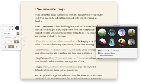 The Stunning Markdown and Writing App for Mac — Typed | iPads in the classroom | Scoop.it