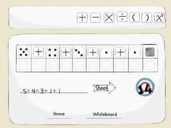 Free Technology for Teachers: 5 Dice - An Order of Operations Activity for iPad | Hamilton West Shared Resources | Scoop.it