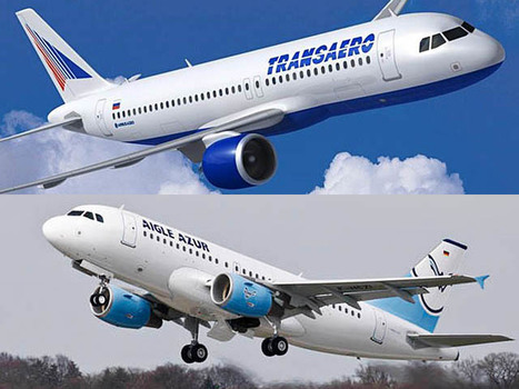 Transaero et Aigle Azur lancent le Moscou – Paris - Air-Journal | AFFRETEMENT AERIEN KEVELAIR | Scoop.it