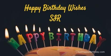 Birthday wishes for sir birthday wishes for s birthday wishes for sir m4hsunfo