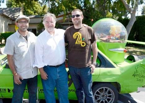 Matt Groening découvre la voiture d'Homer | The simpsons | Scoop.it