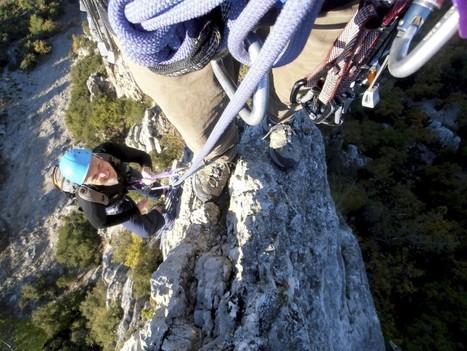 "Visiting the alps or the Drôme Provençale, try the ""Rocher de St Julien""... Niiice climb :) | Adventure Travel destinations | Scoop.it"
