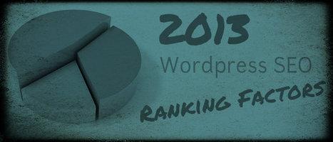 2013 Wordpress SEO Ranking Factors #Moz [Report] | Search Engine Optimization-SEO | Scoop.it