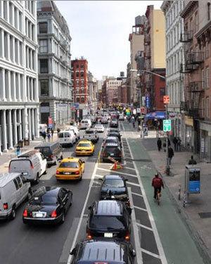 NACTO's New Urban Bikeway DesignGuide | Sustainable Futures | Scoop.it