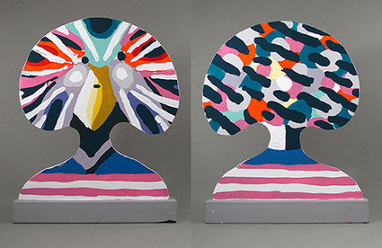 It's Nice That : Illustrator Merijn Hos turns his talents to sculpture with ... | Adobe Adobe Illustrator | Scoop.it