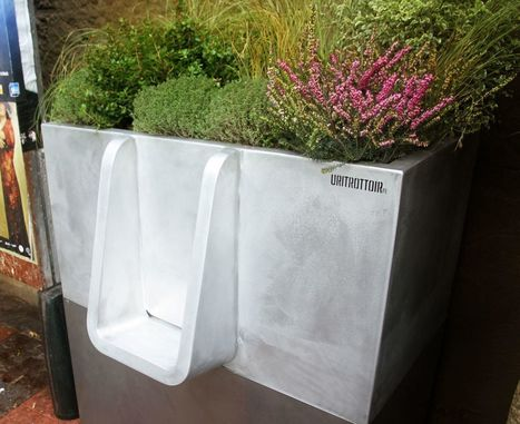 Des urinoirs fleuris et écolos arrivent gare de Lyon | Économie circulaire locale et résiliente pour nourrir la ville | Scoop.it