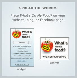 What's In My Lunchbox? :: Pesticides : A Searchable Data Base | YOUR FOOD, YOUR ENVIRONMENT, YOUR HEALTH: #Biotech #GMOs #Pesticides #Chemicals #FactoryFarms #CAFOs #BigFood | Scoop.it