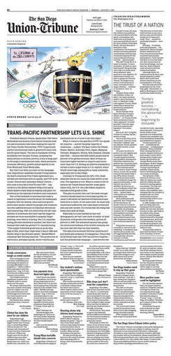 TRANS-PACIFIC PARTNERSHIP LETS U.S. SHINE - The San Diego Union Tribune | International Trade | Scoop.it
