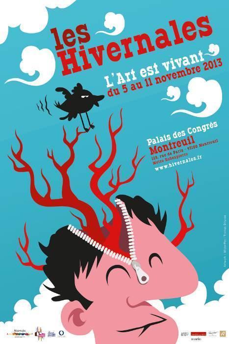 Les Hivernales, un salon d'art à l'esprit démocratique | ARTPOL | Scoop.it