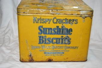 Krispy Crackers Sunshine Biscuit Tin | Vintage Passion | Scoop.it