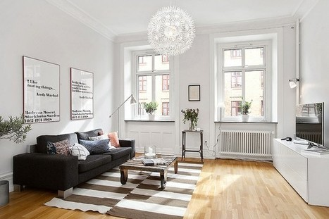 A Cozy and Breathtaking Two-Room Apartment in Gothenburg | Interior Design and Architecture | Interior & Decor | Scoop.it
