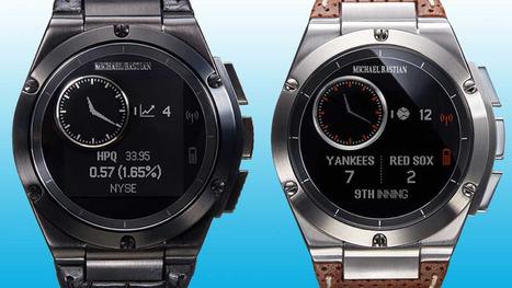 HP and Gilt Groupe unveil fashion-focused smartwatch | Jordi R Parera | Scoop.it