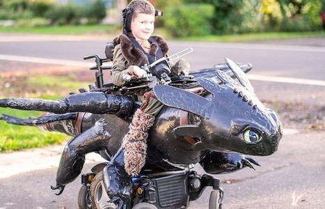 Dad's Awesome Nonprofit Builds Wheelchair-Based Halloween Costumes For Kids | Autism & Special Needs | Scoop.it
