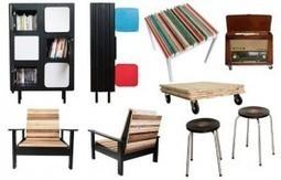 Décoration d'intérieur - la tendance récup de l'atelier 4/5   Actu immobilier Top Immo Gestion   Scoop.it