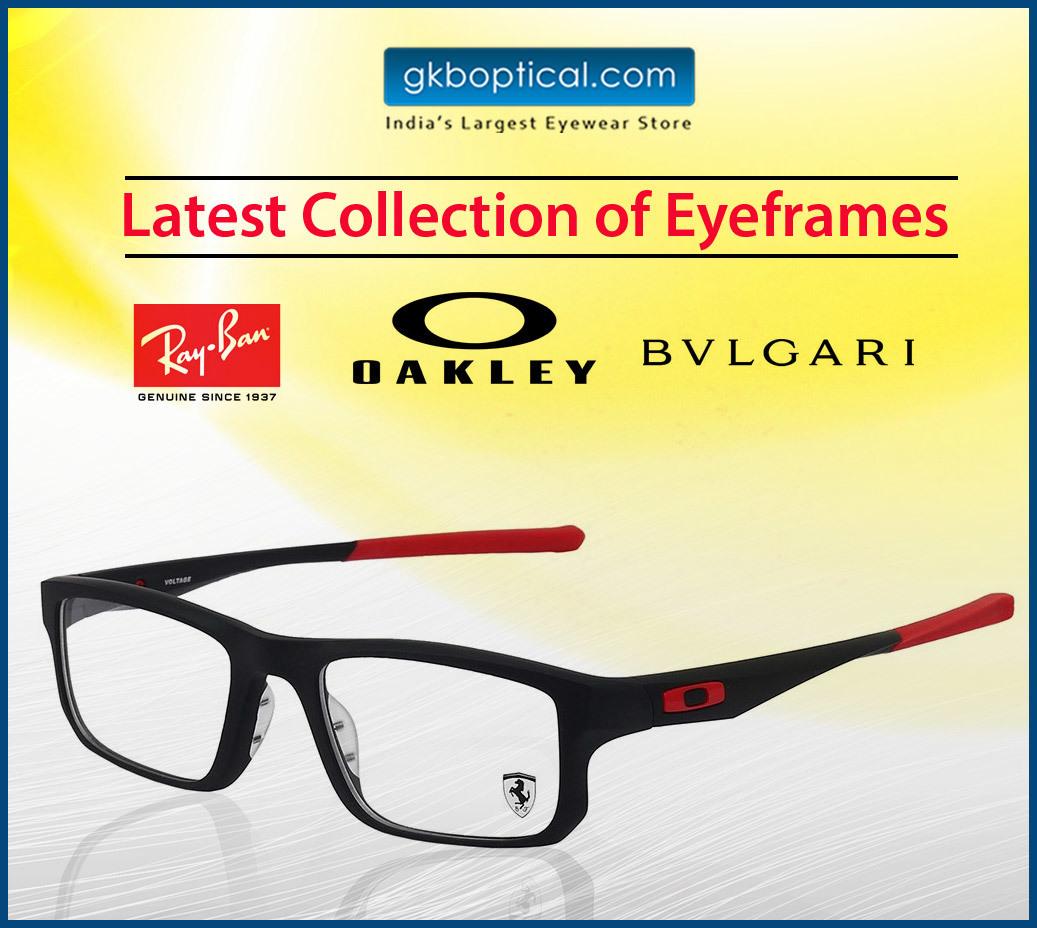 4b3e65fded Buy Oakley eyeglasses   Sunglasses online India from GKBOpticals Website